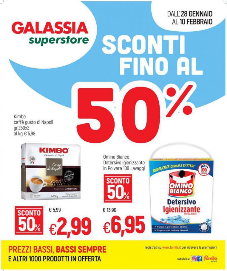 SCONTI FINO AL 50% . Galassia (2021-02-10-2021-02-10)