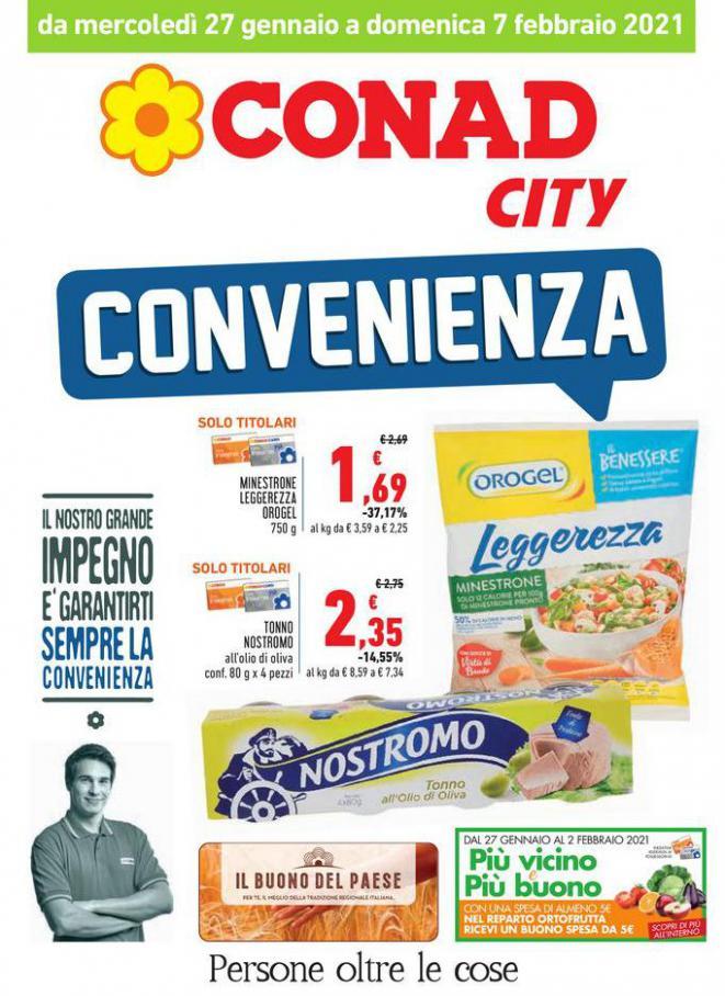 Offerte Conad City . Conad City (2021-02-07-2021-02-07)