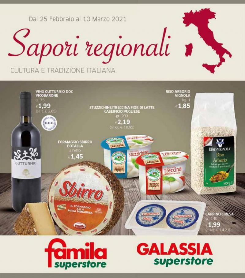Sapori Regionali . Galassia (2021-03-10-2021-03-10)