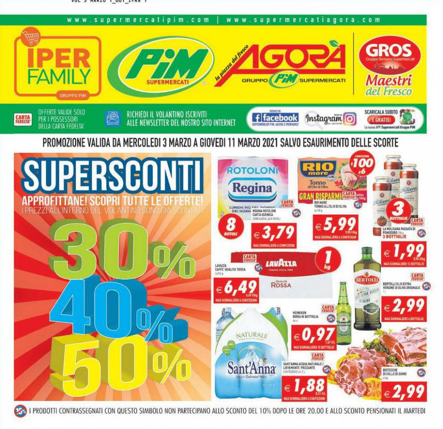 Supersconti 30% 40% 50% . Iperfamily (2021-03-11-2021-03-11)