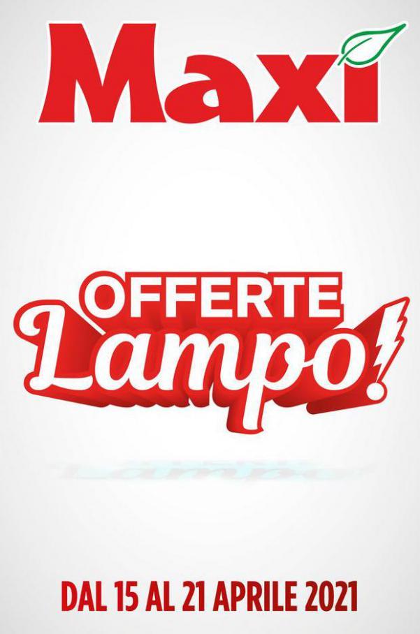Offerte Lampo! . Maxi Superstore (2021-04-21-2021-04-21)