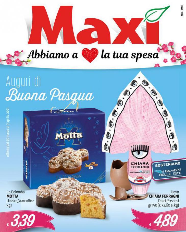 Auguri di buona Pasqua . Maxi Superstore (2021-04-07-2021-04-07)