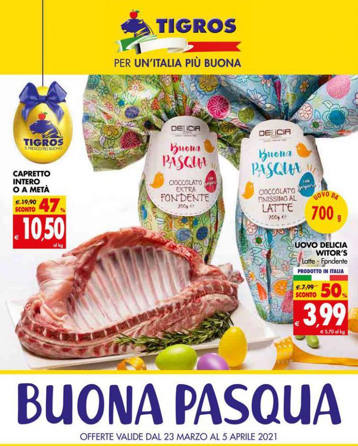 Buona Pasqua . Tigros (2021-04-05-2021-04-05)