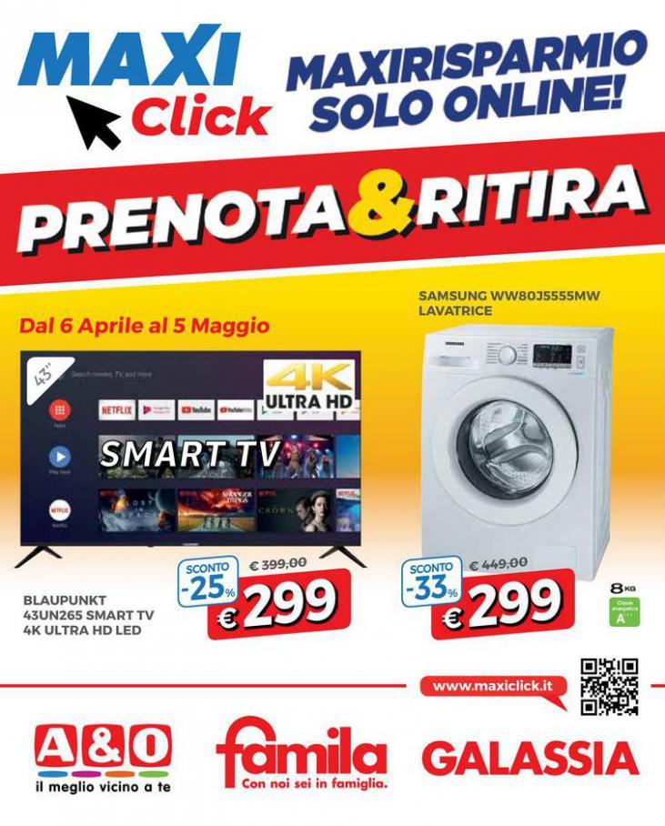 MAXICLICK Prenota e Ritira . Galassia (2021-05-05-2021-05-05)