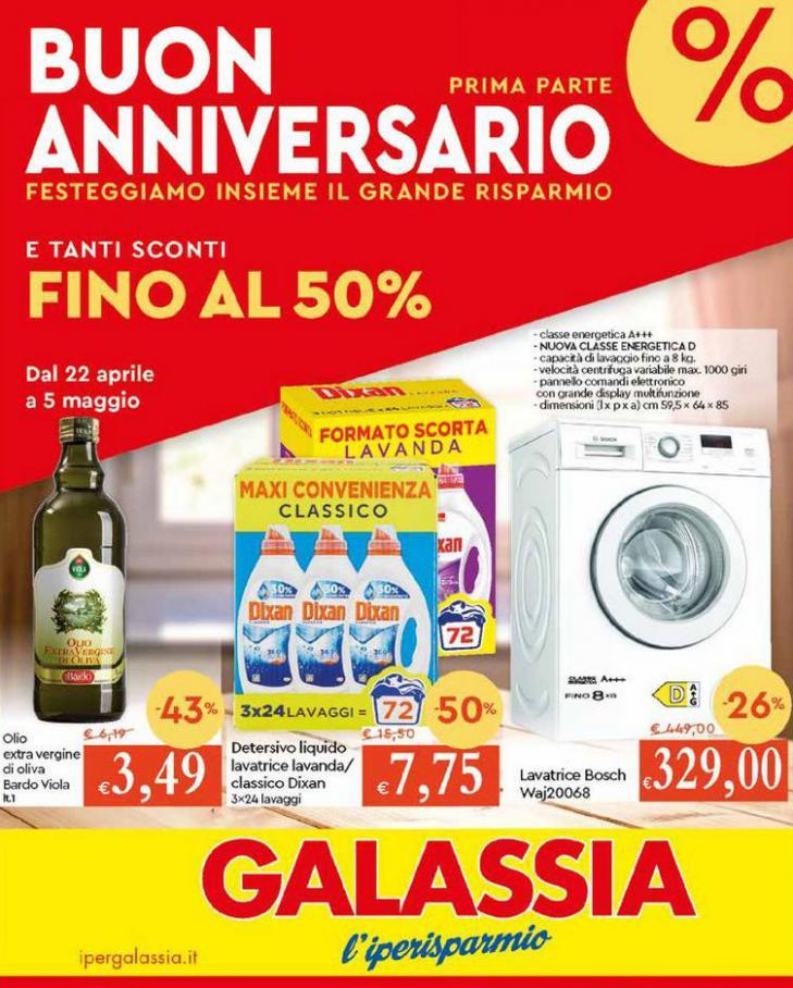 Anniversario prima parte Sconti50 . Galassia (2021-05-05-2021-05-05)