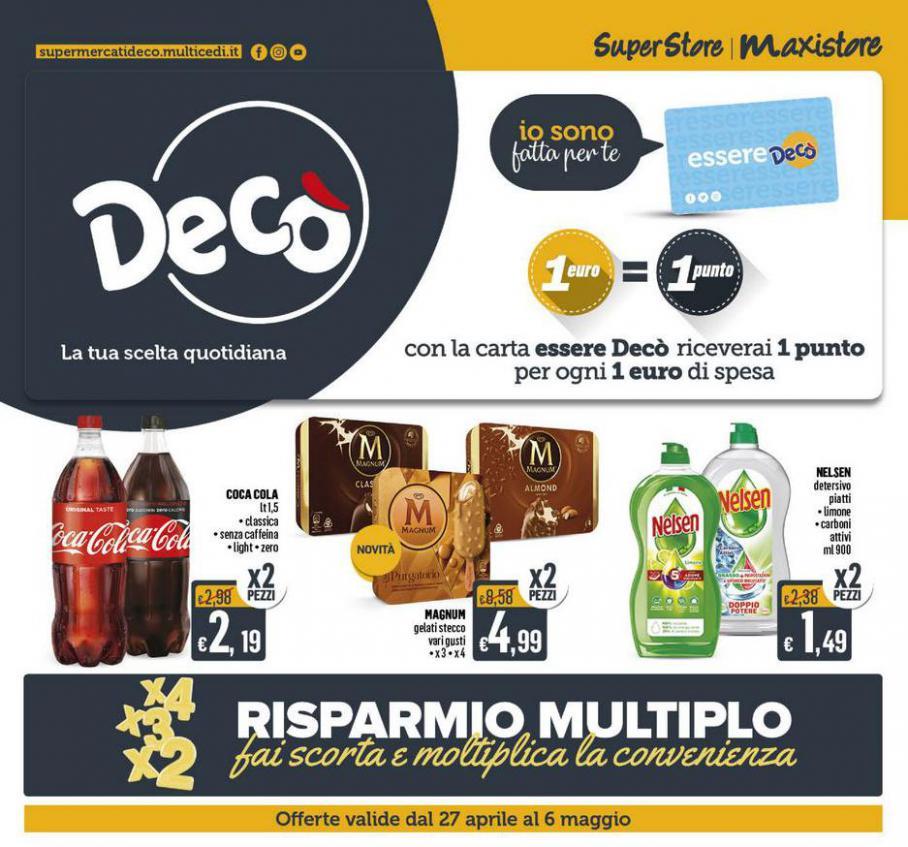 DECO MAXISTORE - Risparmio multiplo . Deco Maxistore (2021-05-06-2021-05-06)
