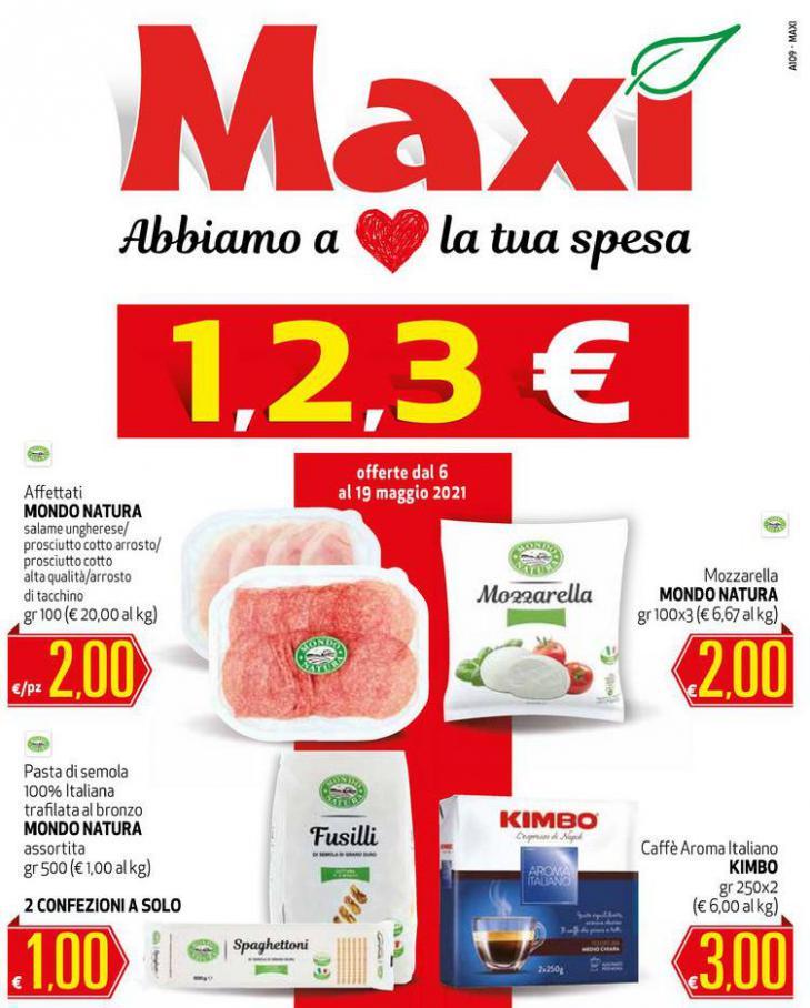 1,2,3€ . Maxi Superstore (2021-05-19-2021-05-19)