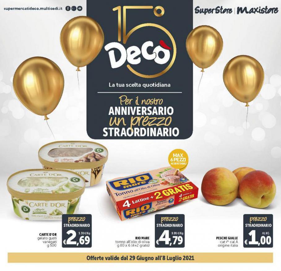 DECO MAXISTORE: Anniversario Straordinario. Deco Maxistore (2021-07-08-2021-07-08)