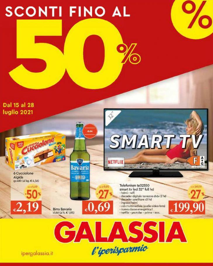 Sconti 50%. Galassia (2021-07-28-2021-07-28)