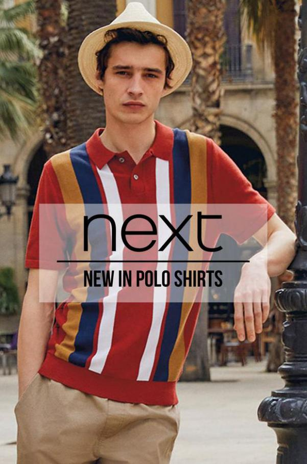 New in polo shirts. Next (2021-09-06-2021-09-06)