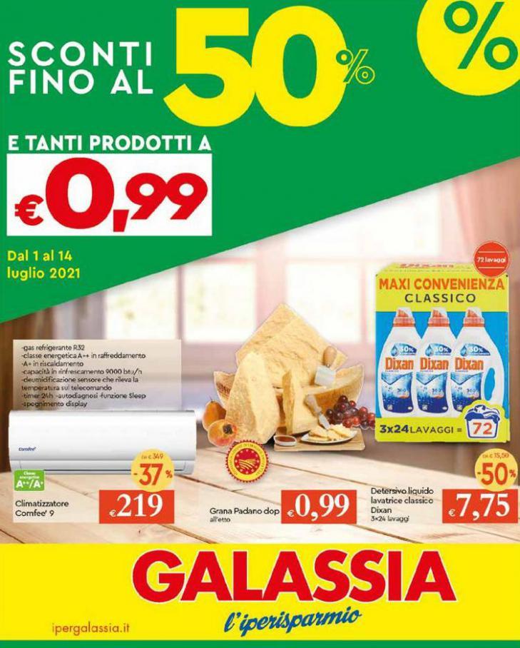 sconti 50% e tanti prodotti a 0e99. Galassia (2021-07-14-2021-07-14)