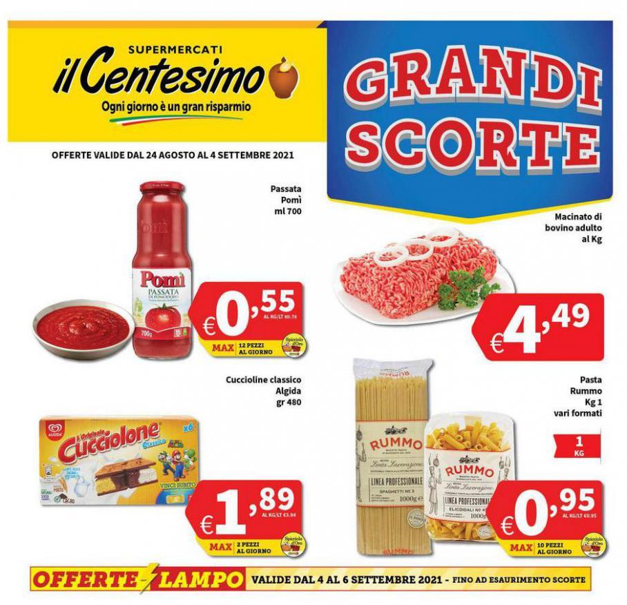 Grandi Scorte. Il Centesimo (2021-09-04-2021-09-04)