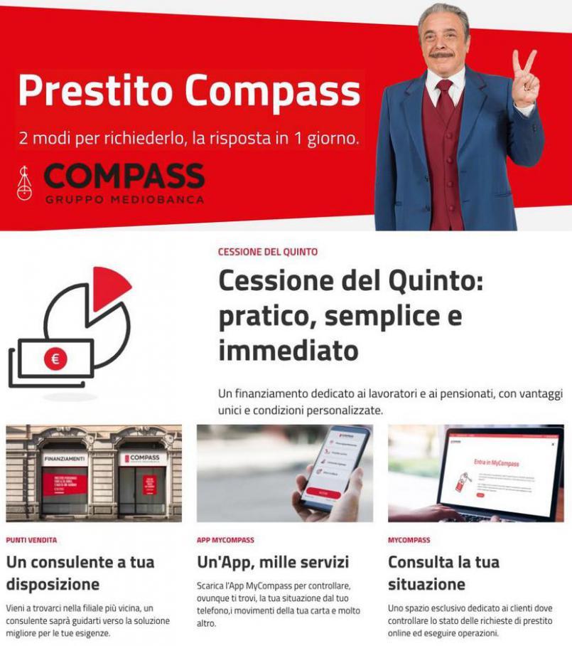 Offerta compass. Compass (2021-10-15-2021-10-15)