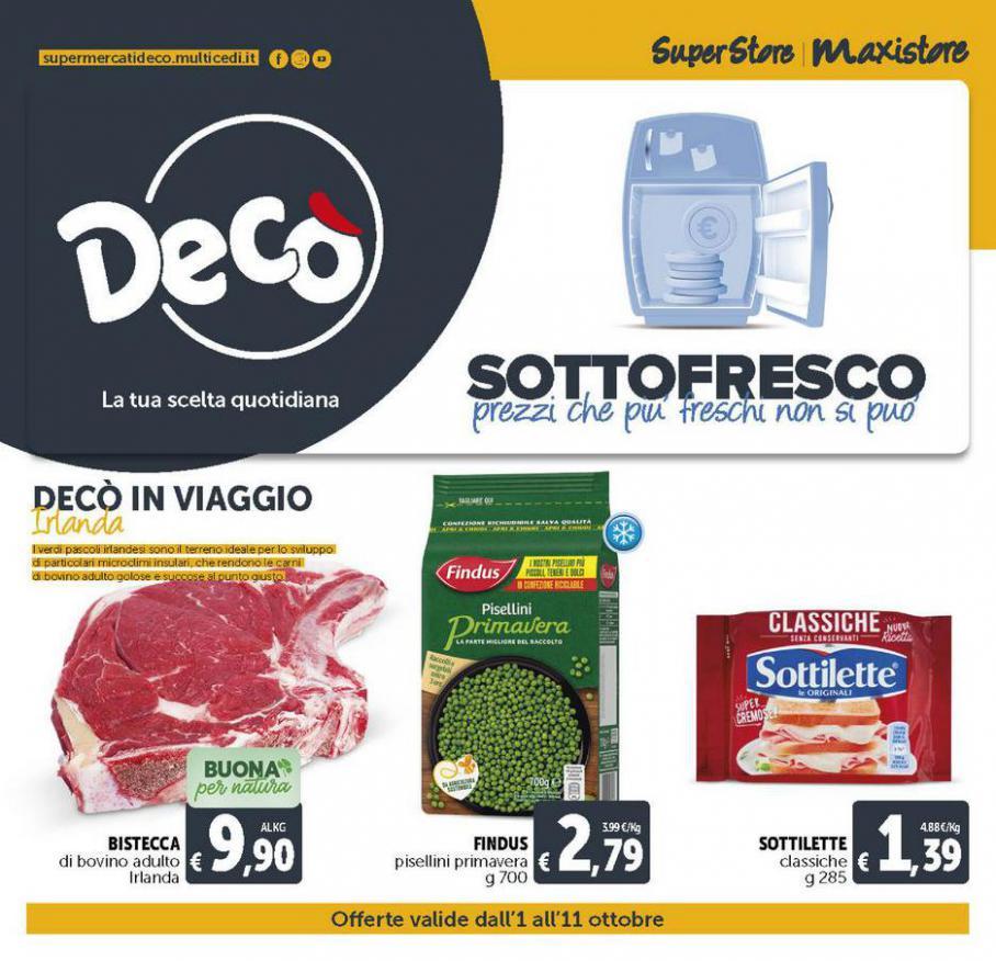 DECO MAXISTORE - Sottofresco. Deco Maxistore (2021-10-07-2021-10-07)