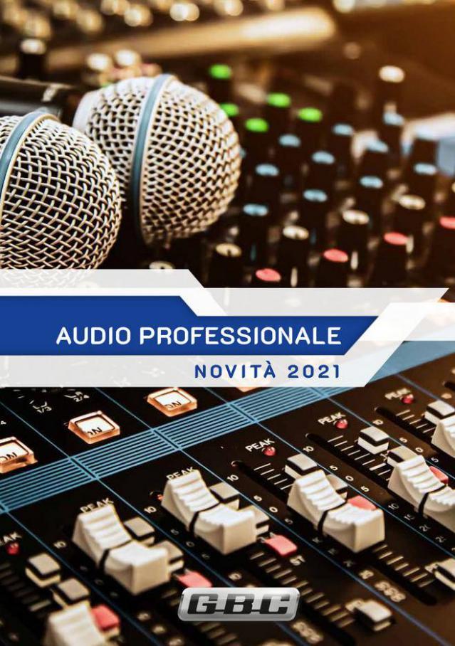 Catalogo Audio Professionale 2021. Gbc (2021-11-30-2021-11-30)